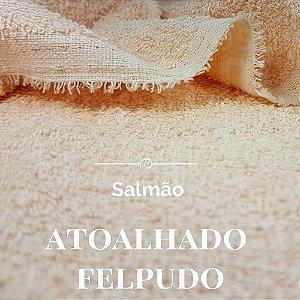 Atoalhado  Felpudo Salmão 50x1,40cm