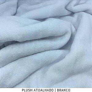 Plush Atoalhado Branco 50cm x 1,70m