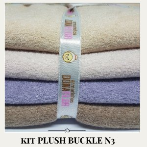 Kit Plush Buckle N3 4tecidos  30x75cm