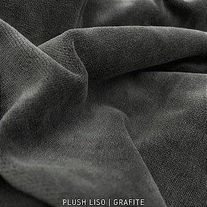 Plush Liso Grafite  50cmx1,70cm