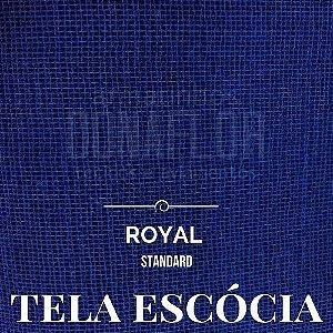 Tela Escócia  Azul royal  50X65cm