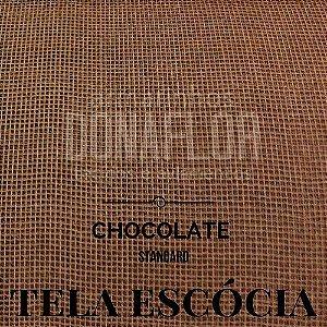 Tela Escócia Chocolate 50cmX65cm