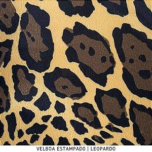 Velboa Estampado Leopardo  50cm x 1,50m