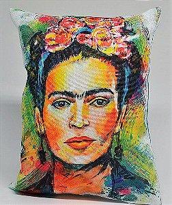 Almofadinha Frida kahlo  vazia 13,5cmx13,5cm