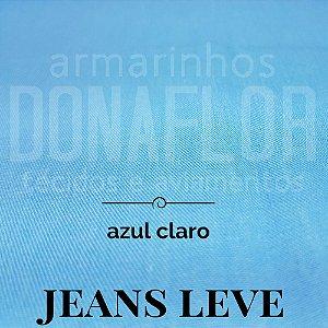 Jeans Leve Azul Claro 50x1,50cm
