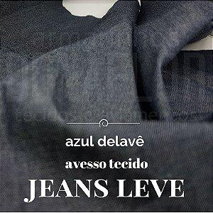 Jeans Leve Azul delavê 50x1,50cm