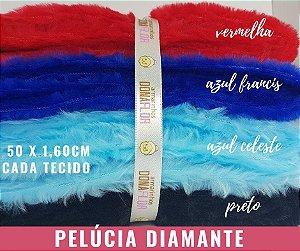 Pelúcia Diamante 4Cortes 50x1,50m cada