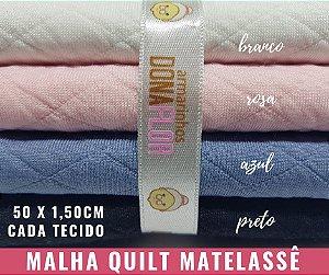 Quilt Matelassê 4Cortes 50x1,50m cada