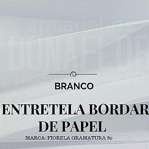 Entretela de Bordar BD80 em Papel Rasgável 50cmx0,90cm