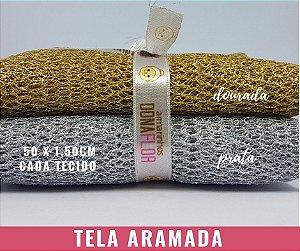Tela Aramada 02Cortes 50x1,50m cada