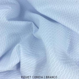 Piquet Colmeia Branco  50cm x 1,45m