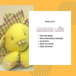 Naninha Leão  Kit Projeto + Tecidos
