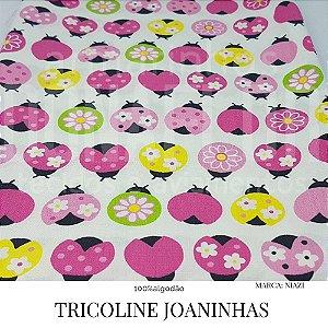 Tricoline Joaninha  50X1,40 largura