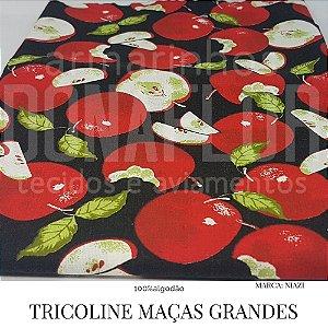 Tricoline  Maças Grandes  50X1,40 largura