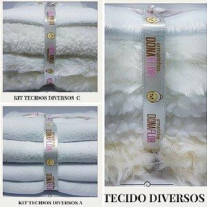Combo tecidos Diversos A-B-C