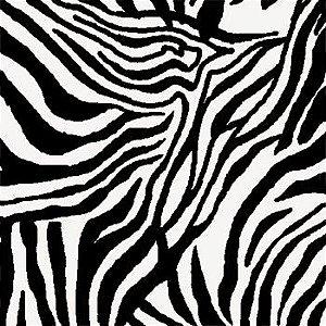 Tricoline Solte suas Feras zebra 50cmX1,40largura
