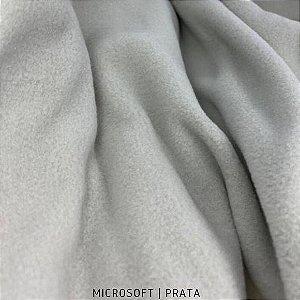 Microsoft Liso Cinza Prata 50cmX1,60m