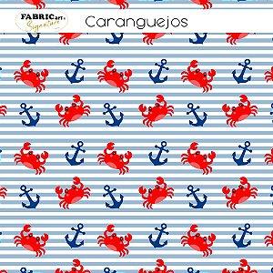Tricoline Caranguejos  50cmX1,40m largura
