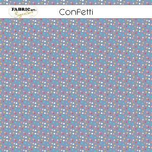Tricoline Confeti 50cmX1,40m largura