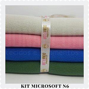 Kit Microsoft N6 4tecidos 30x80cm
