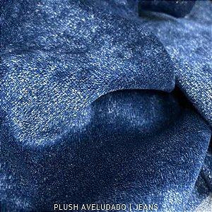 Plush Aveludado Jeans 50cmx1,70m