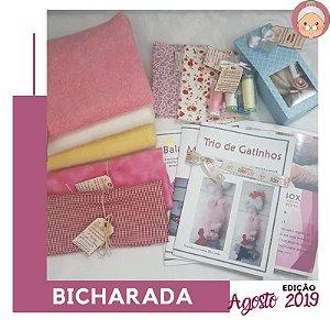 FABRICBOXdonaFlor Bicharada - Agosto 2019 -