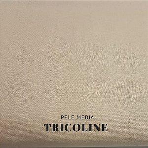 Tricoline 100%Algodão Pele Média 50cmx 1,50m Estilotex