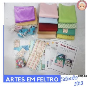 FABRICBOXdonaFlor Artes em Feltro - Setembro 2019