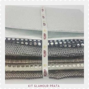 Kit Glamour Prata