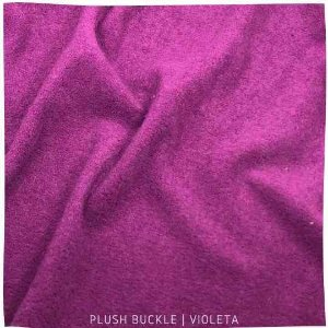 Buckle Plush violeta 50x1,50M
