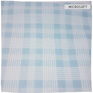 Microsoft Estampado xadrez azul  50X1,50m