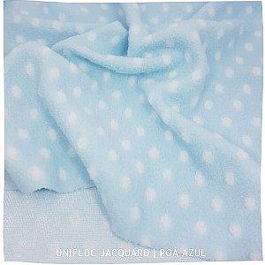 Unifloc  Jacquard  Póa  Azul   50x1,60m