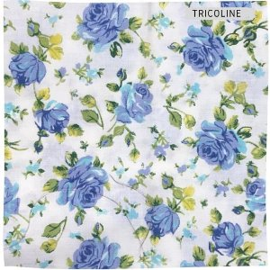 Tricoline Rosa Azul   50X1,40 M
