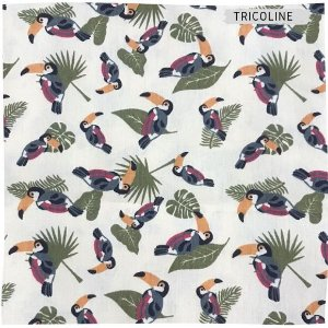 Tricoline Tucanos 50cmX1,40m