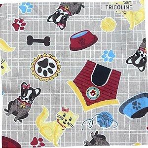 Tricoline Bichos diversos  50X1,40 M