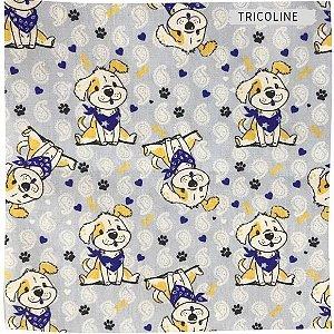 Tricoline  Cachorro Divertido 50X1,40m