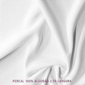 Percal Branco 100% Algodão 50cmx2,50m de largura