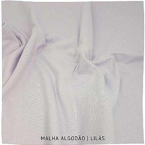 Malha Algodão Penteada Lilas 50x1,80m (tubular)