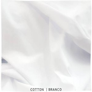 Cotton Branco Egyptian  50cm x1,70m