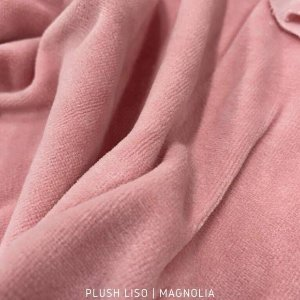 Plush Liso Rosa Magnólia 50cmx1,70m
