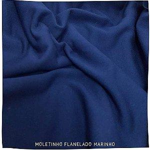 Moletinho Flanelado Marinho 50cm x 1.70m