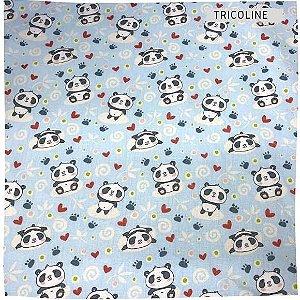 Tricoline Pandas 50cm x 1.50m largura