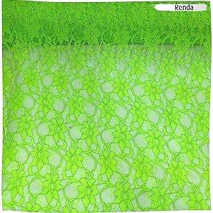 Renda Verde Neon 50cm x 1,40m