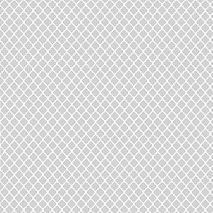 Tricoline Vitral Cinza 50cm x 1.50m largura