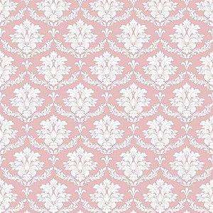 Tricoline Damask Rose 50cm x 1.50m largura