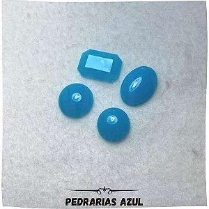Pedraria Sem Furo Azul 1,08mm x 1,03mm