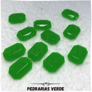 Pedrarias Sem Furo Verde 1,08mm x 1,03mm
