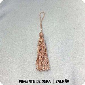 Pingente de Seda | Salmão 8cm
