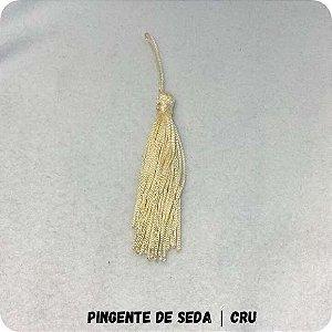 Pingente de Seda | Cru 8cm