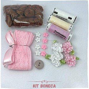 Kit Aviamento Para Boneca
